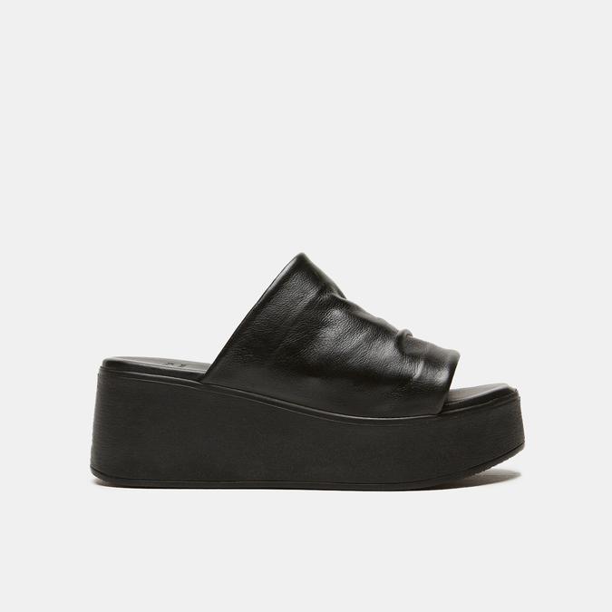 Sandales à plateforme bata, Noir, 764-6965 - 13