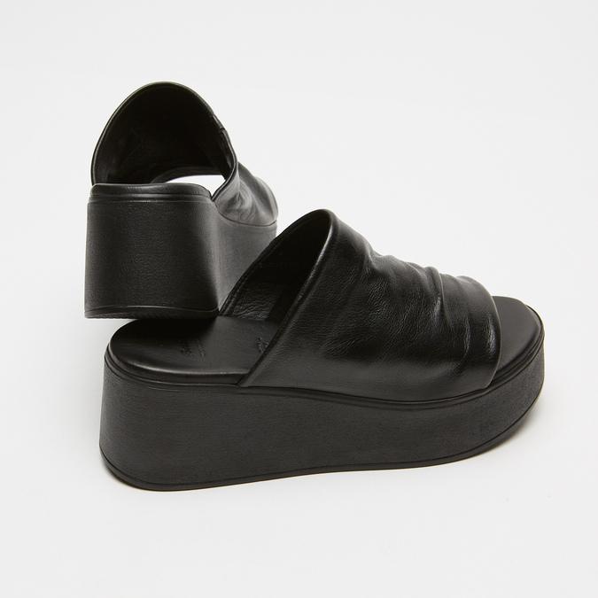 Sandales à plateforme bata, Noir, 764-6965 - 17