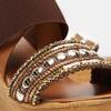 Sandales compensées bata, Brun, 769-3925 - 16