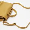sac à main en vrai cuir bata, Jaune, 964-8152 - 17