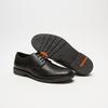 chaussures basses brogue en cuir flexible, Noir, 824-6147 - 17