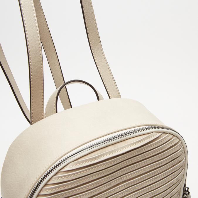 sac à dos à effet matelassé visible bata, Beige, 961-8188 - 16