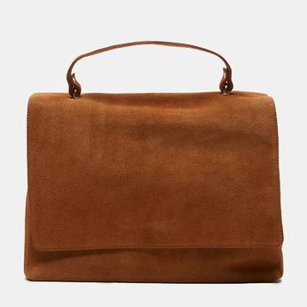 sac à main en suède bata, Brun, 963-3109 - 13