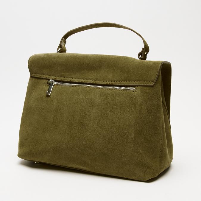 sac à main en suède bata, Vert, 963-7109 - 15