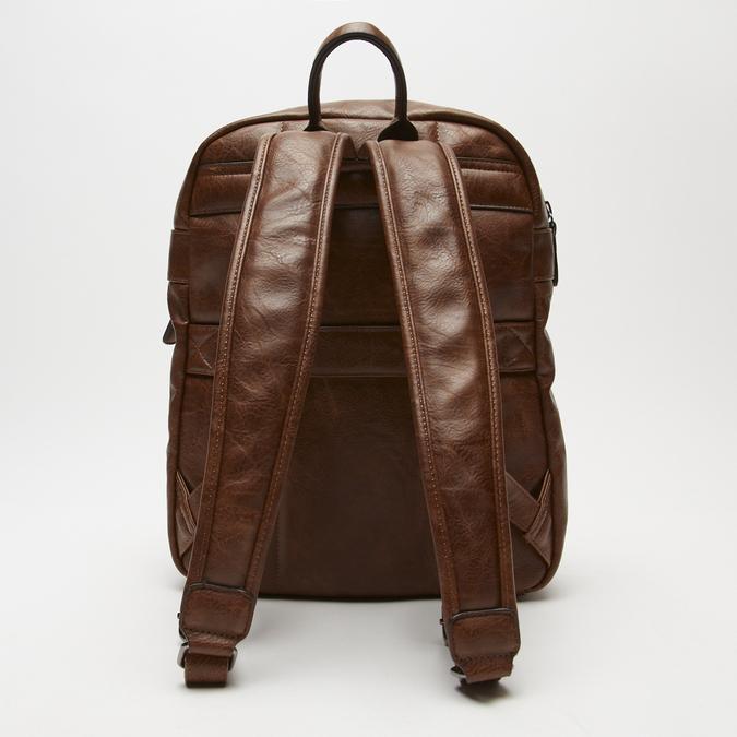 sac à dos à triple fermeture éclair bata, Brun, 961-3367 - 15