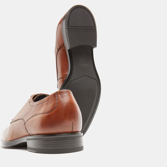 chaussures basses en cuir homme, Brun, 824-3110 - 17