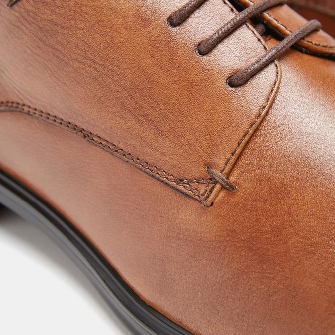 chaussures basses en cuir homme, Brun, 824-3110 - 19