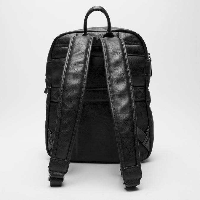 sac à dos à triple fermeture éclair bata, Noir, 961-6367 - 16