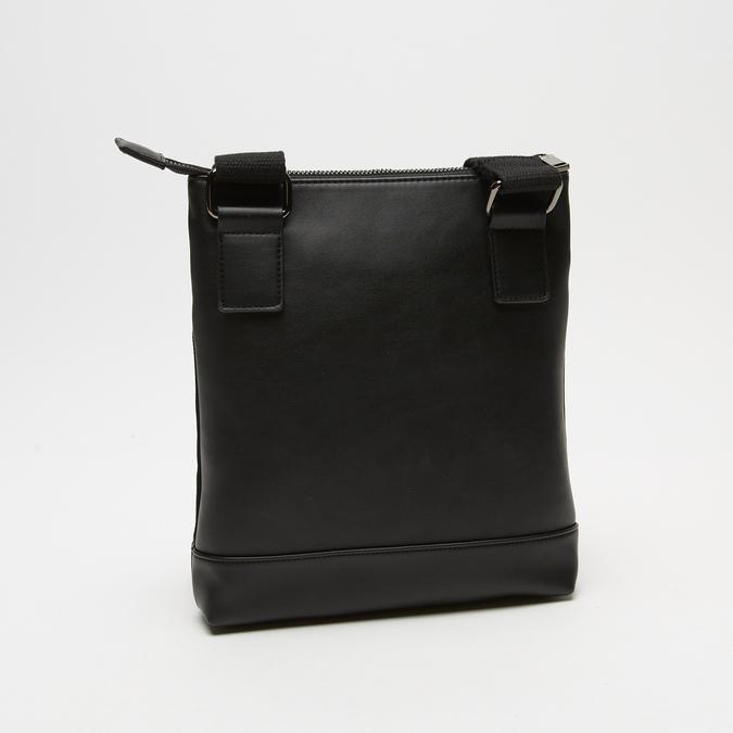 sac à bandoulière à double fermeture éclair bata, Noir, 961-6168 - 15