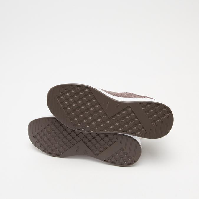 baskets en knit femme bata, bronze, 549-4572 - 15