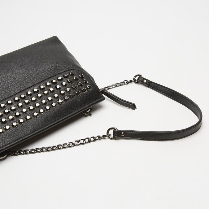 sac à bandoulière clouté bata, Noir, 961-6144 - 15