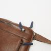 sac à bandoulière à trois fermetures éclair bata, Brun, 961-3366 - 16