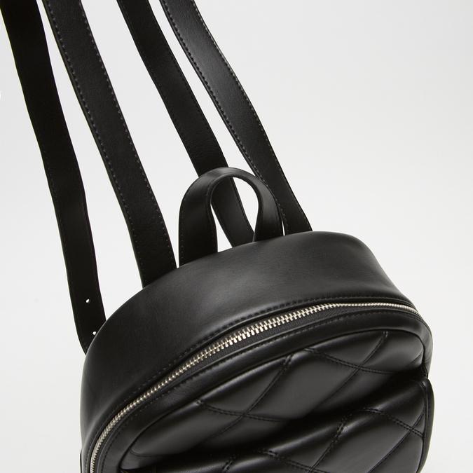 sac à dos à effet matelassé bata, Noir, 961-6299 - 15