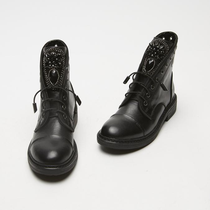 bottines à clous femme bata, Noir, 591-6281 - 26