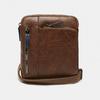 sac à bandoulière à trois fermetures éclair bata, Brun, 961-3366 - 13