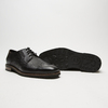 chaussures basses brogue en cuir bugatti, Noir, 824-6250 - 19
