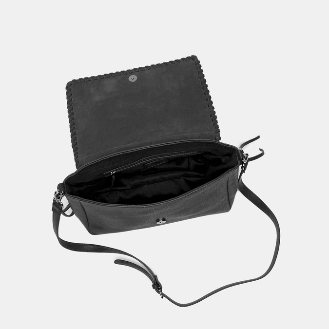 sac à main à glands bata, Noir, 961-6198 - 17