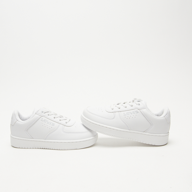 baskets Levi's à plateforme levis, Blanc, 311-1112 - 16