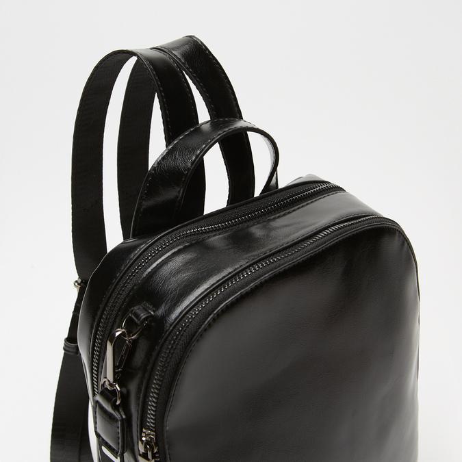 sac à dos à effet brillant bata, Noir, 961-6155 - 26