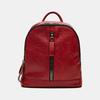sac à dos à double fermeture éclair bata, Rouge, 961-5334 - 13