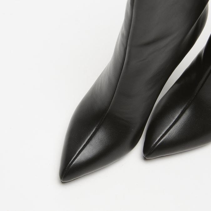 bottes à talons aiguilles bata, Noir, 791-6735 - 26