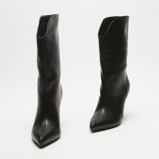 bottes à talons aiguilles bata, Noir, 791-6735 - 16