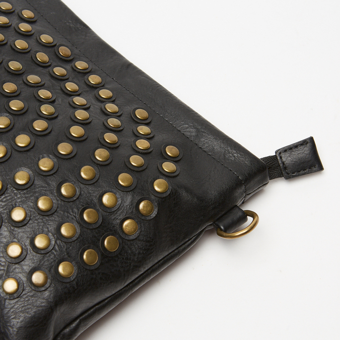 sac clutch clouté bata, Noir, 961-6476 - 26