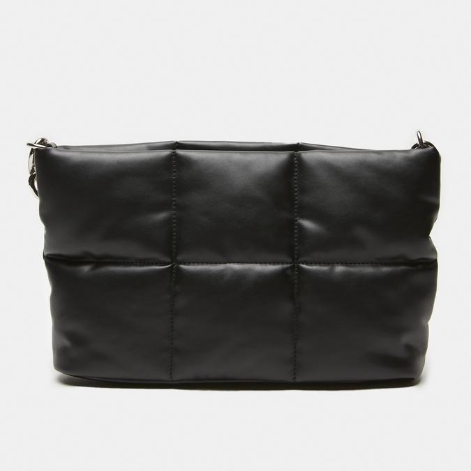 sac à main à effet matelassé bata, Noir, 961-6136 - 13