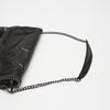Sac à bandoulière en tissu bata, Noir, 969-6112 - 17