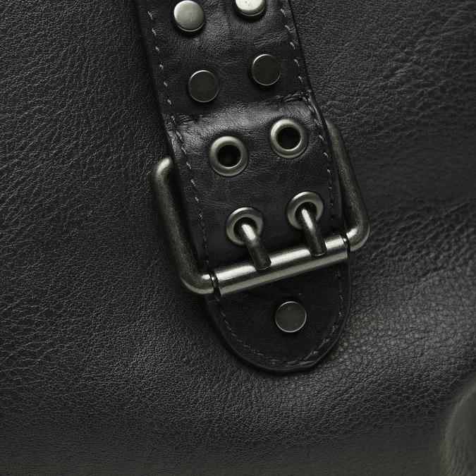 sac cabas à détail clouté bata, Noir, 961-6403 - 16