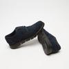 chaussures basses brogue en suède bata, Bleu, 823-9199 - 15
